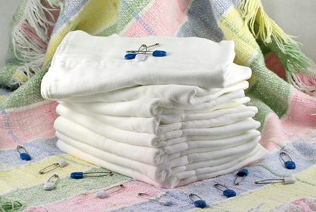 Pile of fresh cloth diapers | Sheknows.com