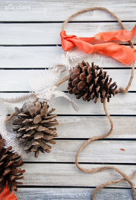 Pinecone garland | Sheknows.com