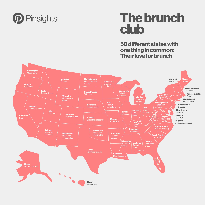 Pinterest brunch map