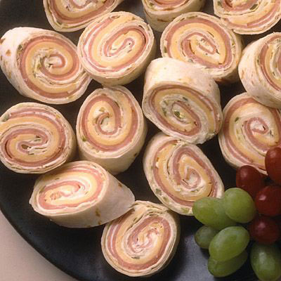Meat and cheese pinwheels
