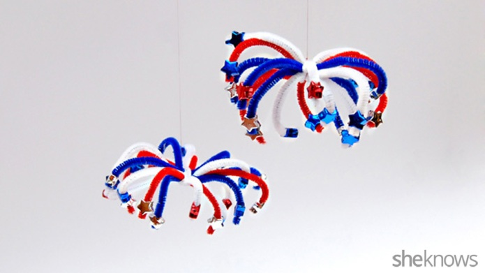 3 Firework crafts for Fourth of