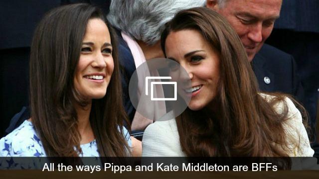 Kate Middleton, Pippa Middleton BFFs