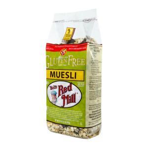New gluten-free muesli for breakfast