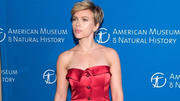 Scarlett Johansson attends the 2017 American