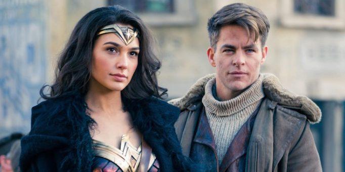 Chris Pine in Wonder Woman