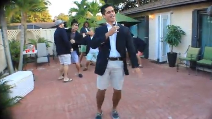 This Pitch Perfect proposal is aca-mazing