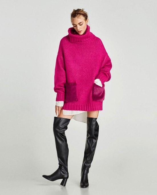 Ways To Wear A Turtleneck | Turtleneck at Zara