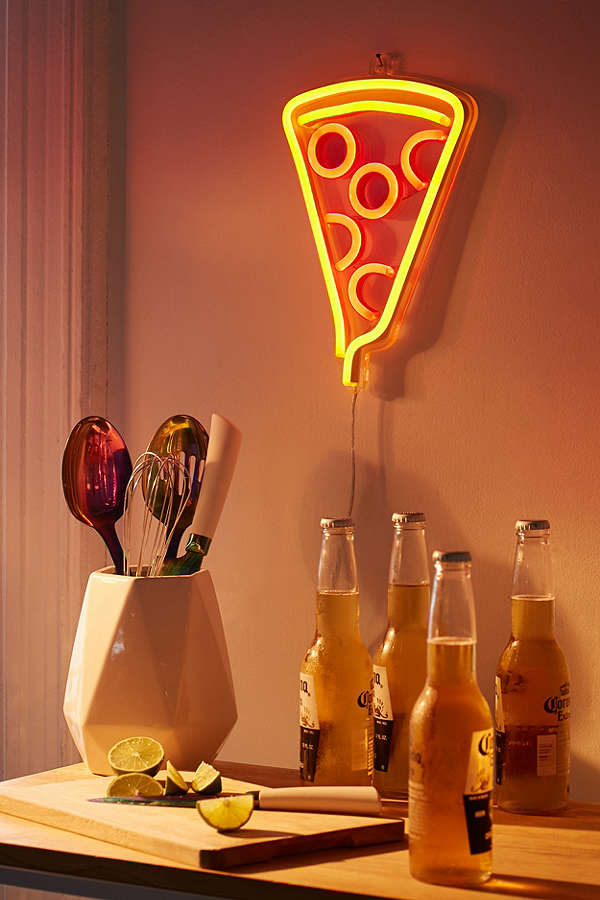 Gifts for Impossible People | Pizza Neon Sign at Urban Outfitters