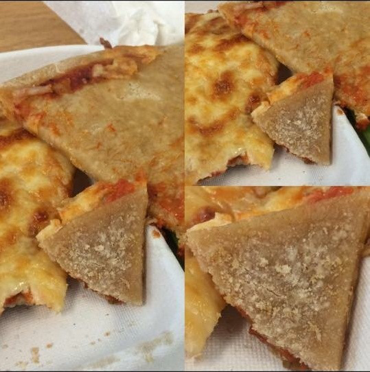 Cardboard pizza