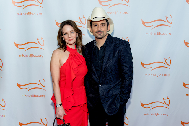 Kimberly Williams-Paisley & Brad Paisley attend the 2017 'A funny thing happened on the way to cure Parkinson's'