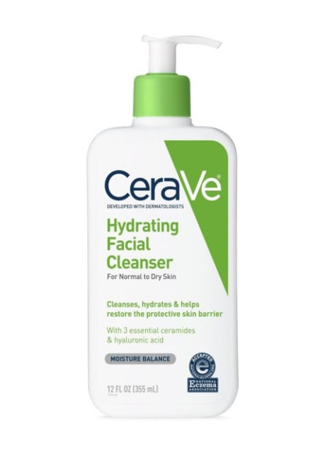 Cream Cleanser for Summer Skin: Cerave Hydrating Facial Cleanser