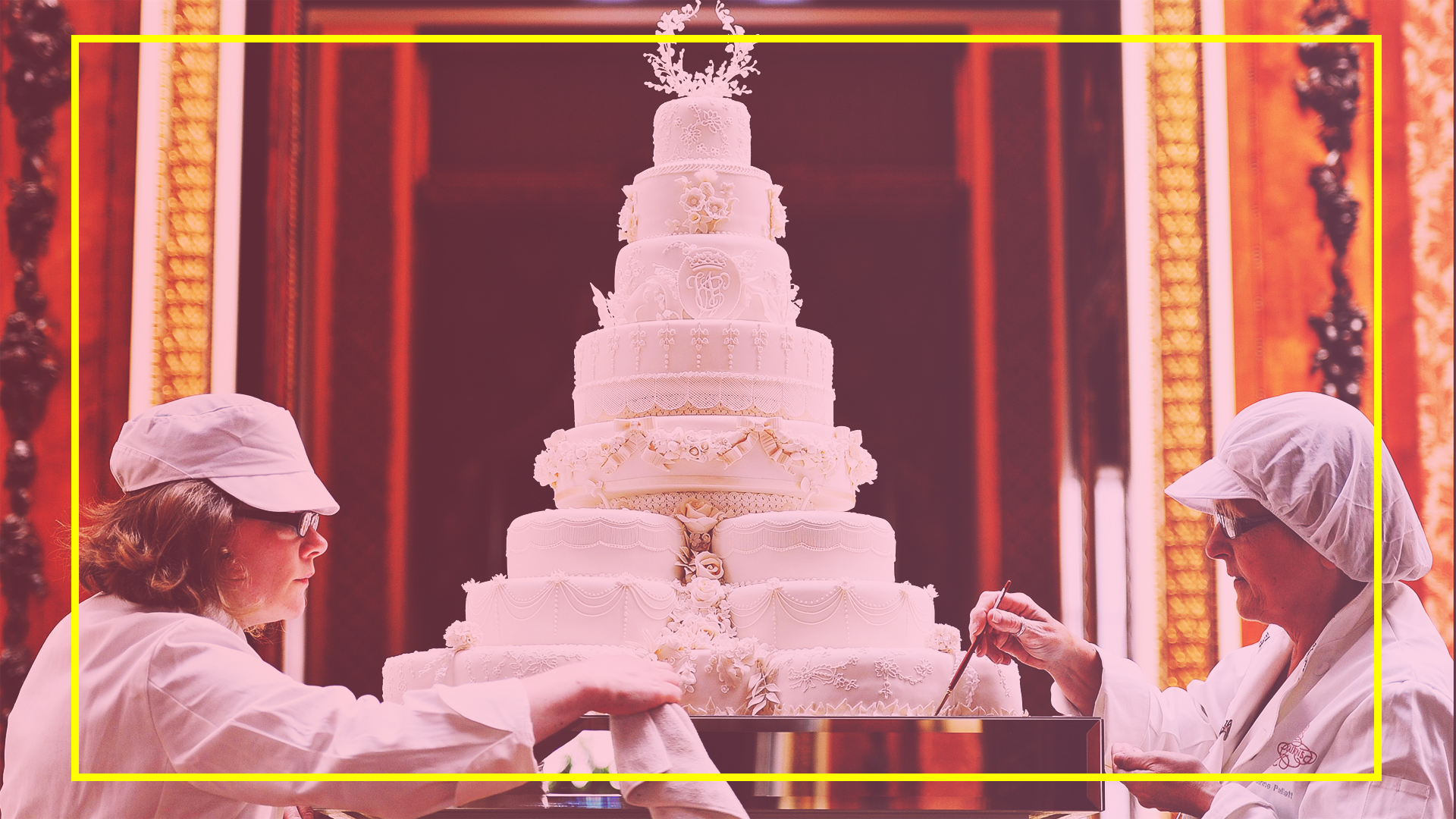 A Look At The Most Extravagant Royal Wedding Cakes Sheknows