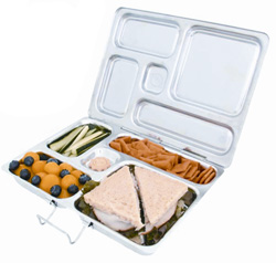 Green lunch boxes