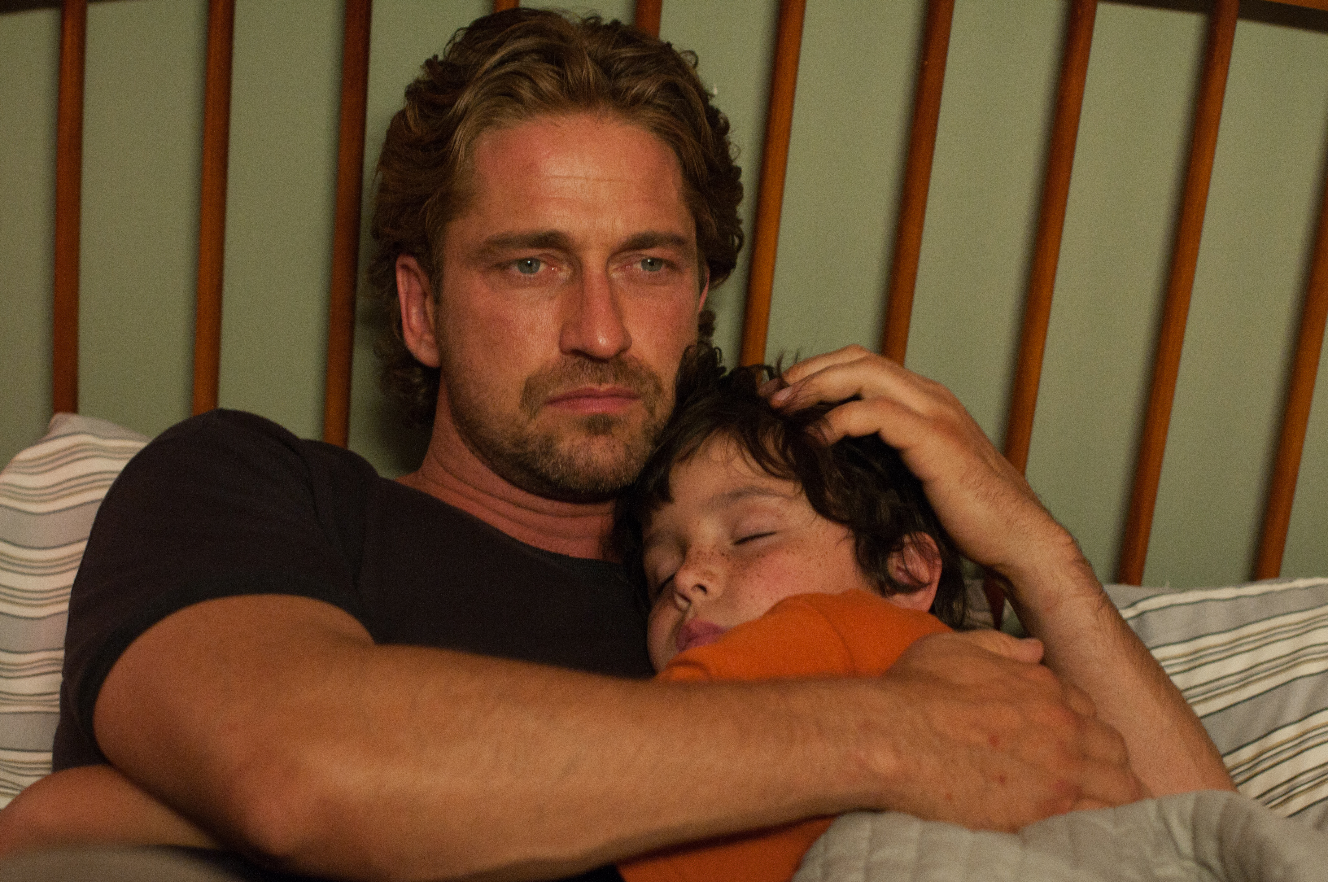 Gerard Butler in Playing for Keeps
