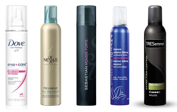 Our favorites in hair mousse