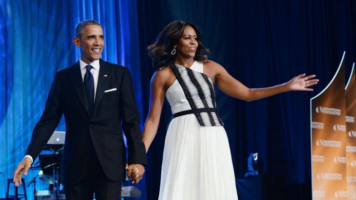 Michelle Obama gets turnt up for