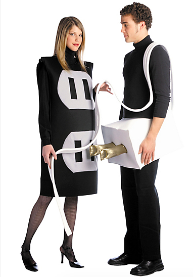 plug and outlet costume