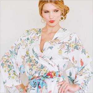 Plum Pretty Sugar kimono robe