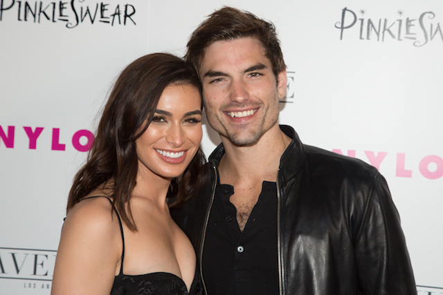 Ashley Iaconetti and Jared Haibon arrive for NYLON Hosts Annual Young Hollywood Party