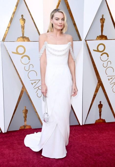 Margot Robbie Oscars 2018