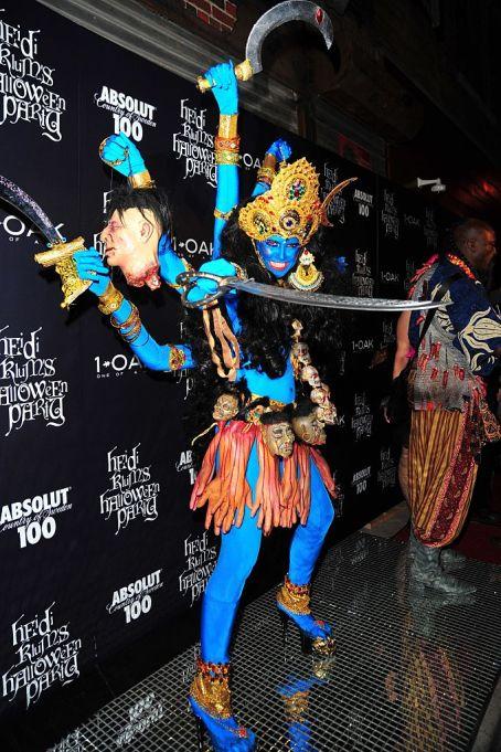 Heidi Klum's Halloween Costume: Hindu goddess