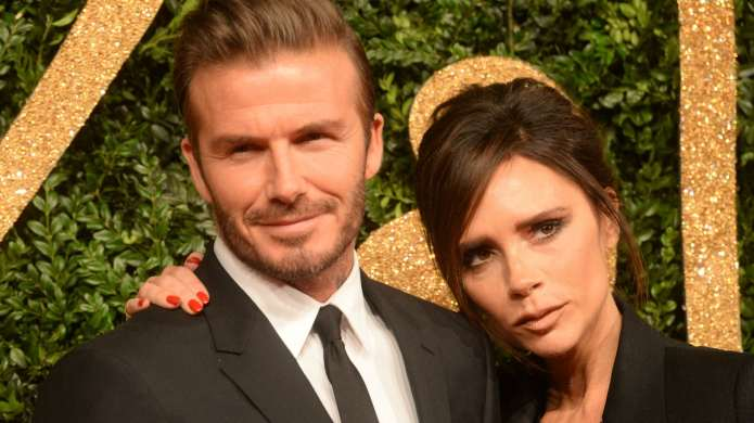 The Beckhams Posted Adorable Throwback Wedding