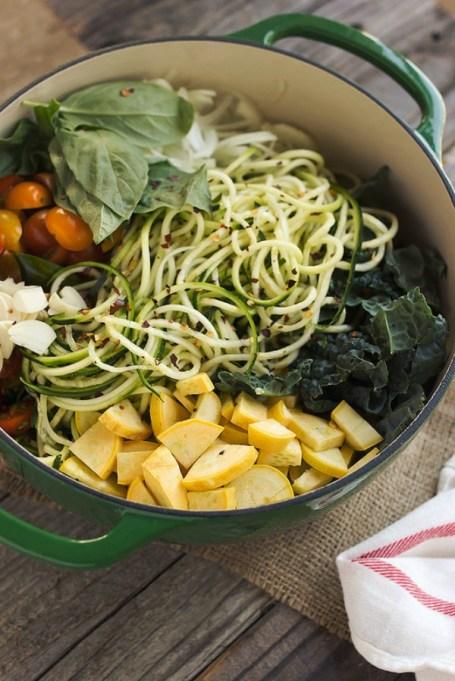 One-pot summer meals | One-pot zucchini pasta