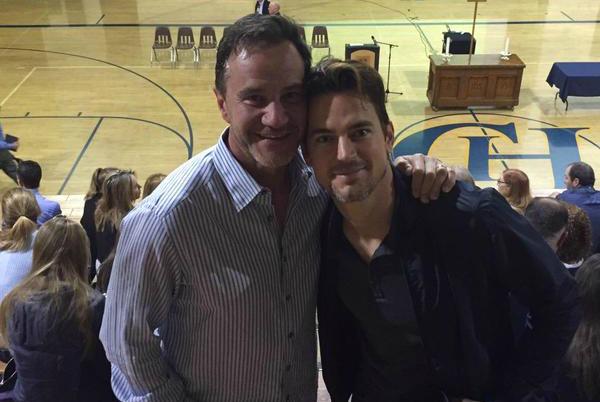 Tim DeKay and Matt Bomer of White Collar