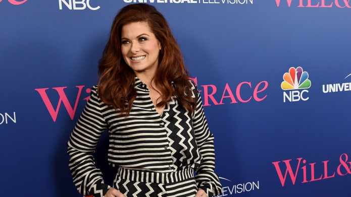 Debra Messing at 'Will & Grace'