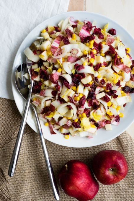 Yummy Winter Salads You'll Actually Crave   Apple and Endive Salad
