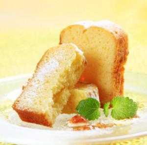 Vegan orange pound cake