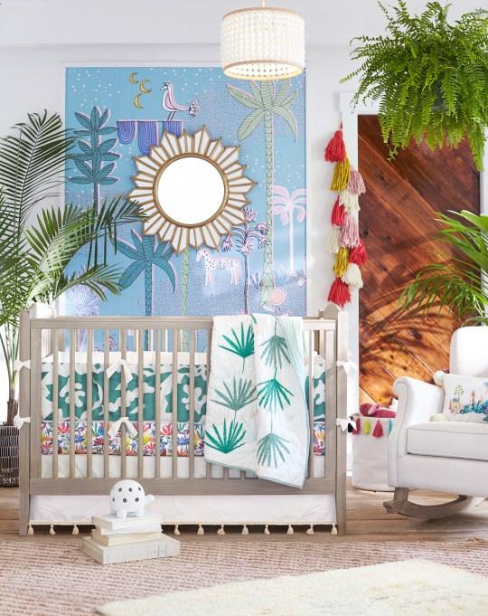 Justina Blakeney X PB Kids Is Every Tiny Bohemian's Dream: Jungalino Nursery