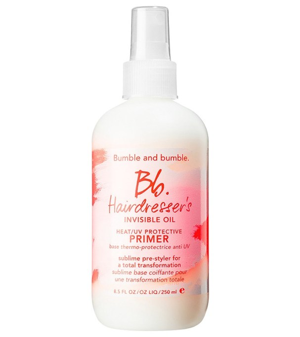 Best products for every hair type: Bumble and Bumble Hairdresser's Invisible Oil Heat/Protecting Primer | Hair care products 2017
