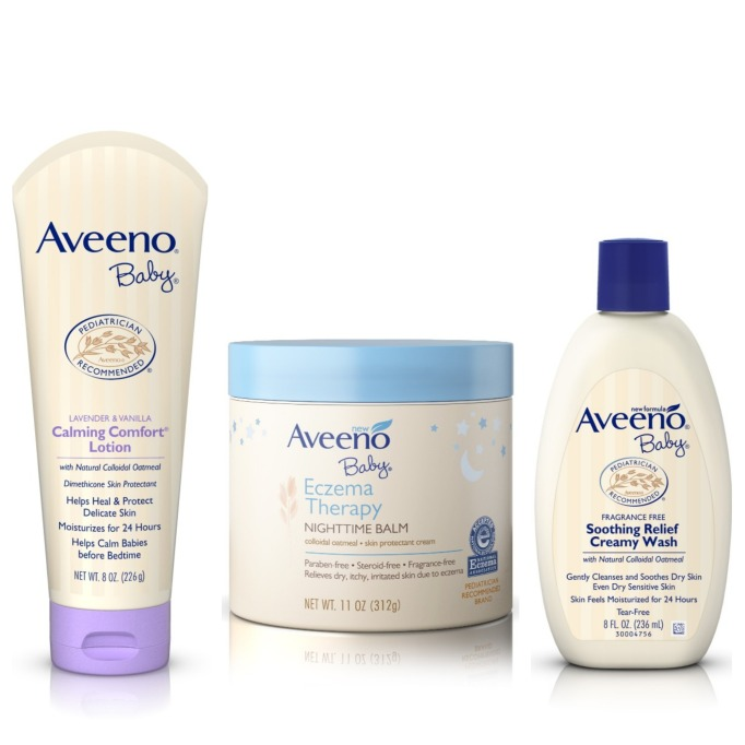 Beauty Brands with Baby Products: Aveeno