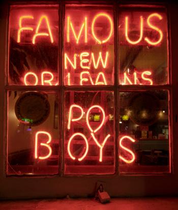 Po Boys Sign