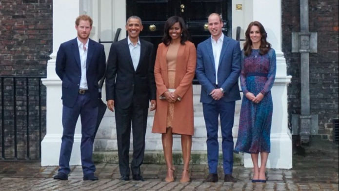 The Obamas are coming for dinner