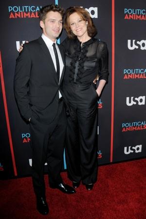 Sigourney Weaver, Sebastian Stan Political Animals