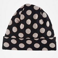 Diane von Furstenberg polka dot cap
