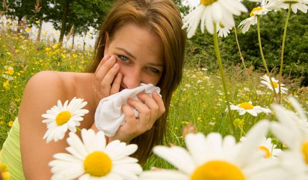 Allergies - pollen - sneezing