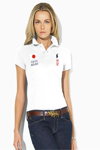 Polo Ralph Lauren selling polo for Japan relief
