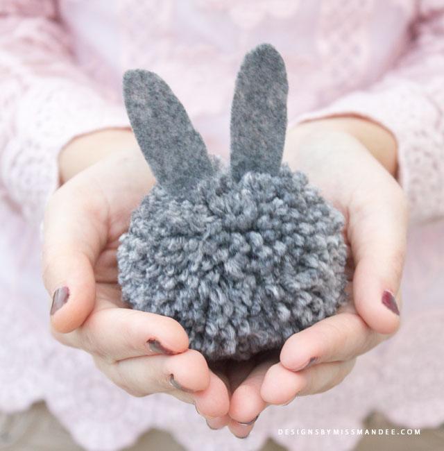 pom-pom bunnies