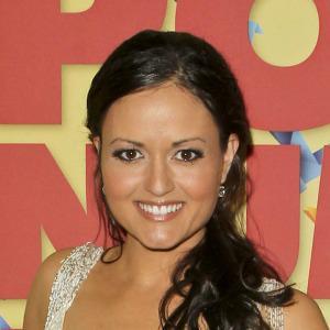 DWTS contestant Danica McKellar breaks a