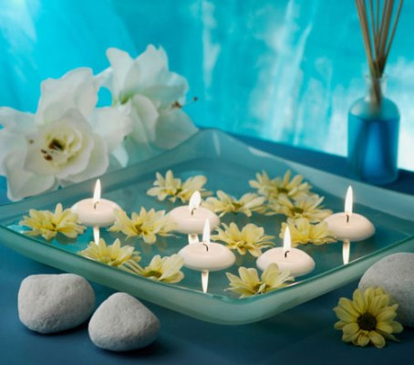 Pool candles