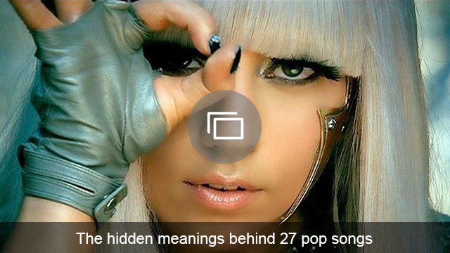 pop songs meanings slideshow