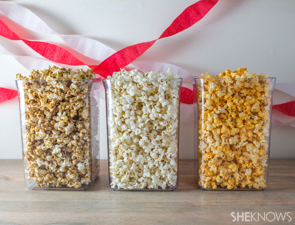 Create a custom popcorn buffet | SheKnows