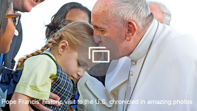 Pope Francis' historic visit to the U.S. chronicled in amazing photos