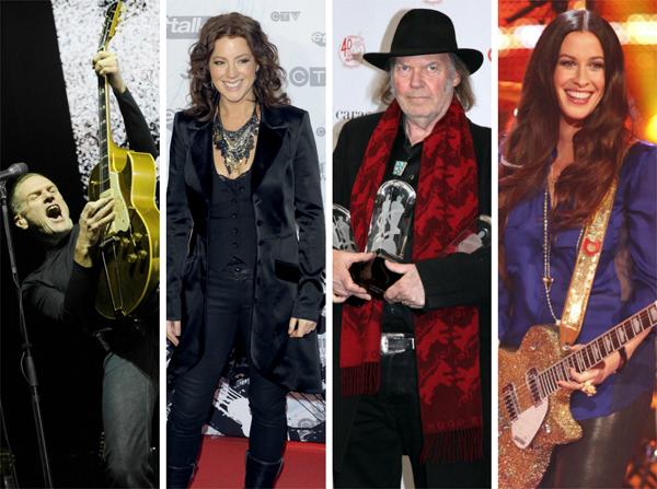 Popular Canadian musicians