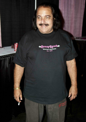 Ron Jeremy at the Exxxotica Expo in Chicago