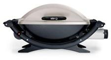 Weber portable gas gril