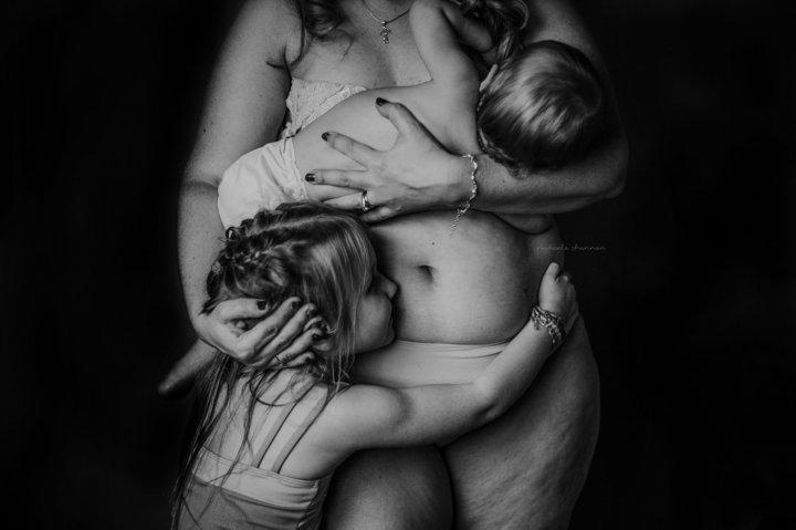 postpartum body photo
